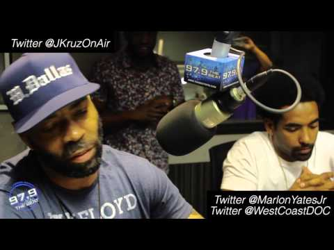 The D.O.C. First Dallas Radio Interview in 25 Years & Straight Outta Compton's Marlon Yates Jr