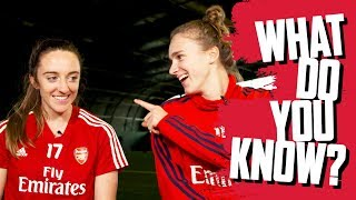 NAME EUROPEAN COUNTRIES | Vivianne Miedema v Lisa Evans | What Do You Know?