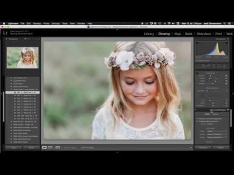 Lightroom Editing Tutorial Using SMAL Presets