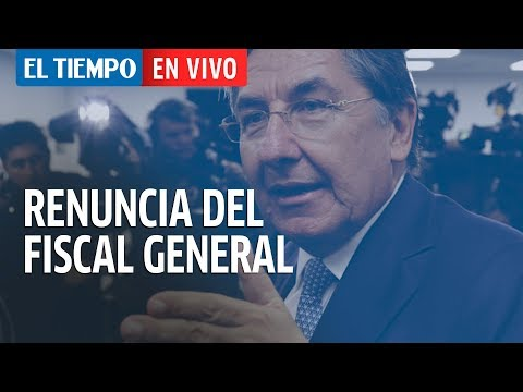 Renuncia el Fiscal Néstor Humberto Martinez
