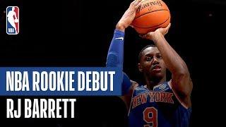 RJ Barrett Stars On Both Ends of the Floor | 2019 NBA Preseason