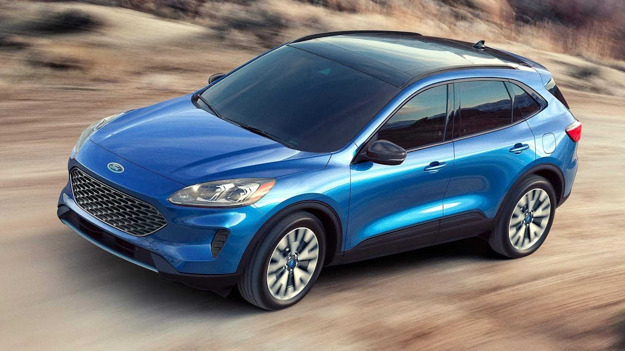 2020 ford kuga new look and hybrid tech youtube. Black Bedroom Furniture Sets. Home Design Ideas