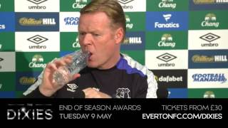 Ronald Koeman's pre-Chelsea press conference