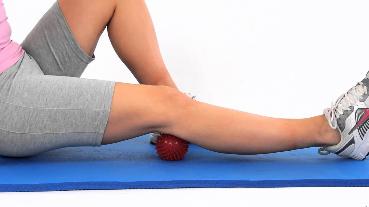 Spikey Ball Popliteus Massage Youtube