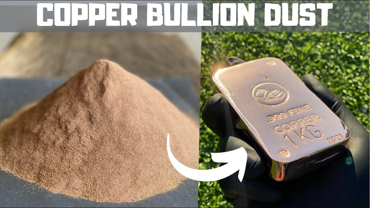 Download Copper Dust Melt Down - Trash To Treasure - ASMR Metal Melting - Copper Casting  BigStackD Bullion