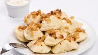 Вареники с картошкой домашний пошаговый рецепт