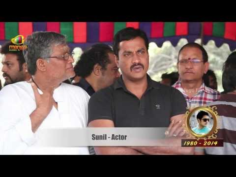 I am unable to believe that Uday Kiran is no more says Sunil - Uday Kiran Funeral