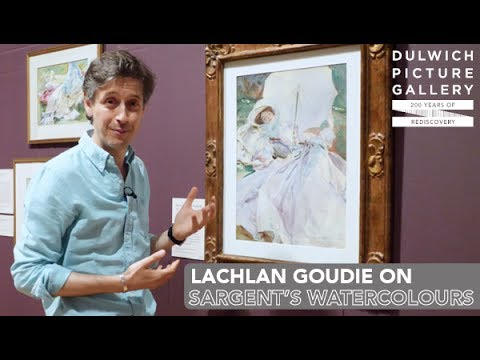 John Singer Sargent's Watercolours: An artist's view with Lachlan Goudie