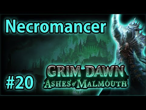 The Hidden Path - Summoner Necromancer #20 - Let's Play Grim Dawn: Ashes of Malmouth (v1.0.2.1)