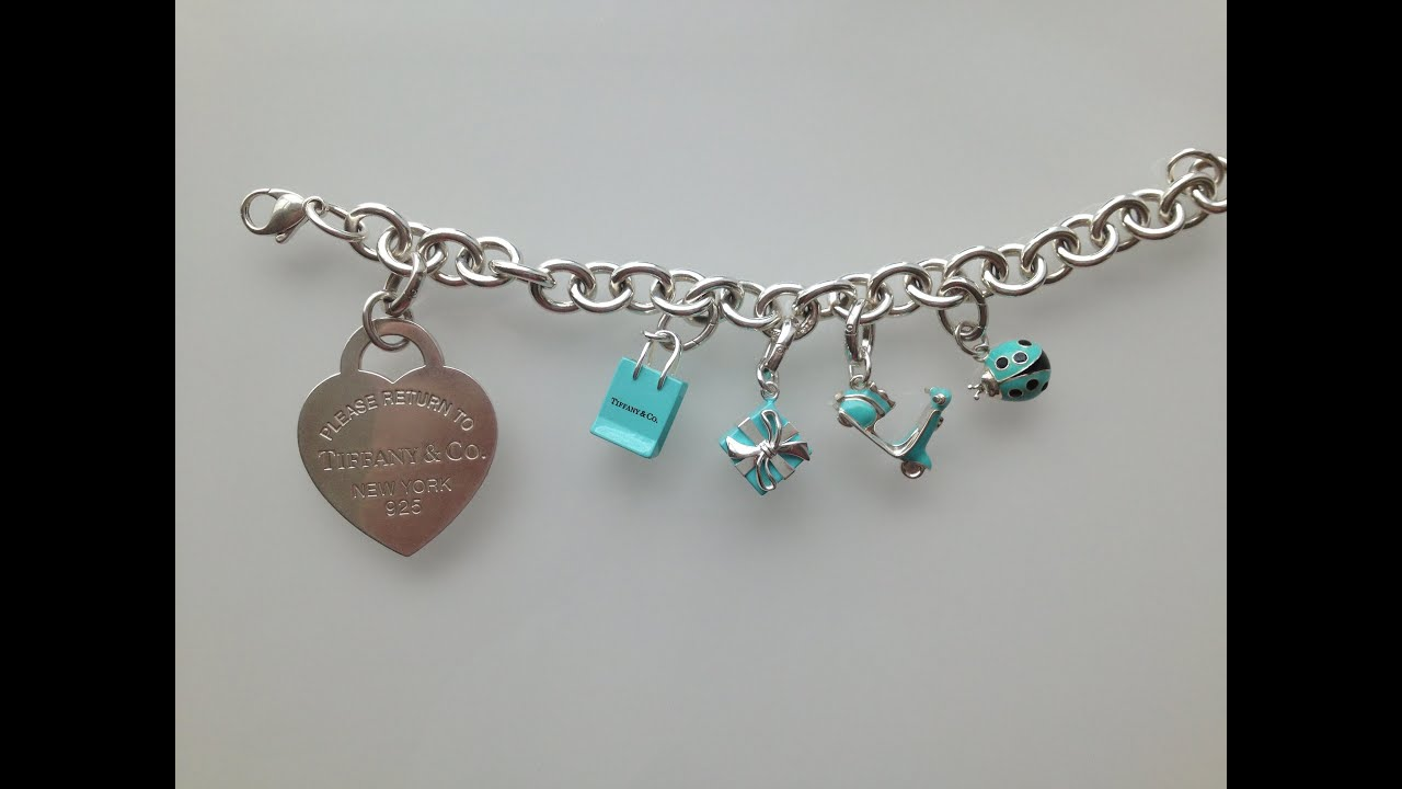 57e3c4d392db Tiffany   Co. Charm Bracelet - YouTube