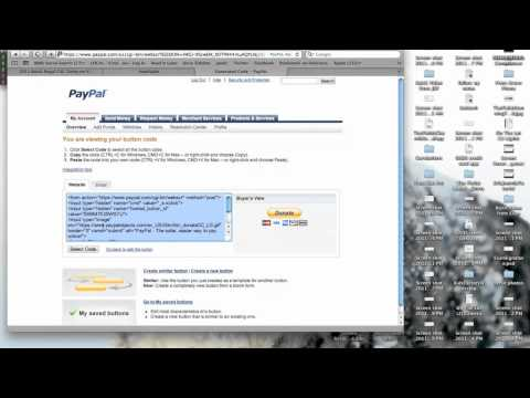 How To Accept Paypal Donations Walkthrough