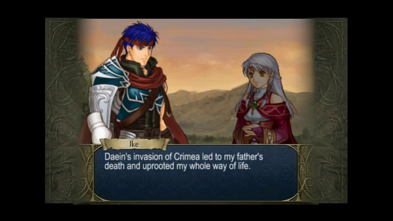 Radiant Dawn The Lost Supports Ike X Micaiah Rank C Youtube