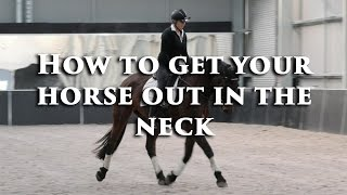 How to Get a Young Horse Out in the Neck - Dressage Mastery TV Ep106