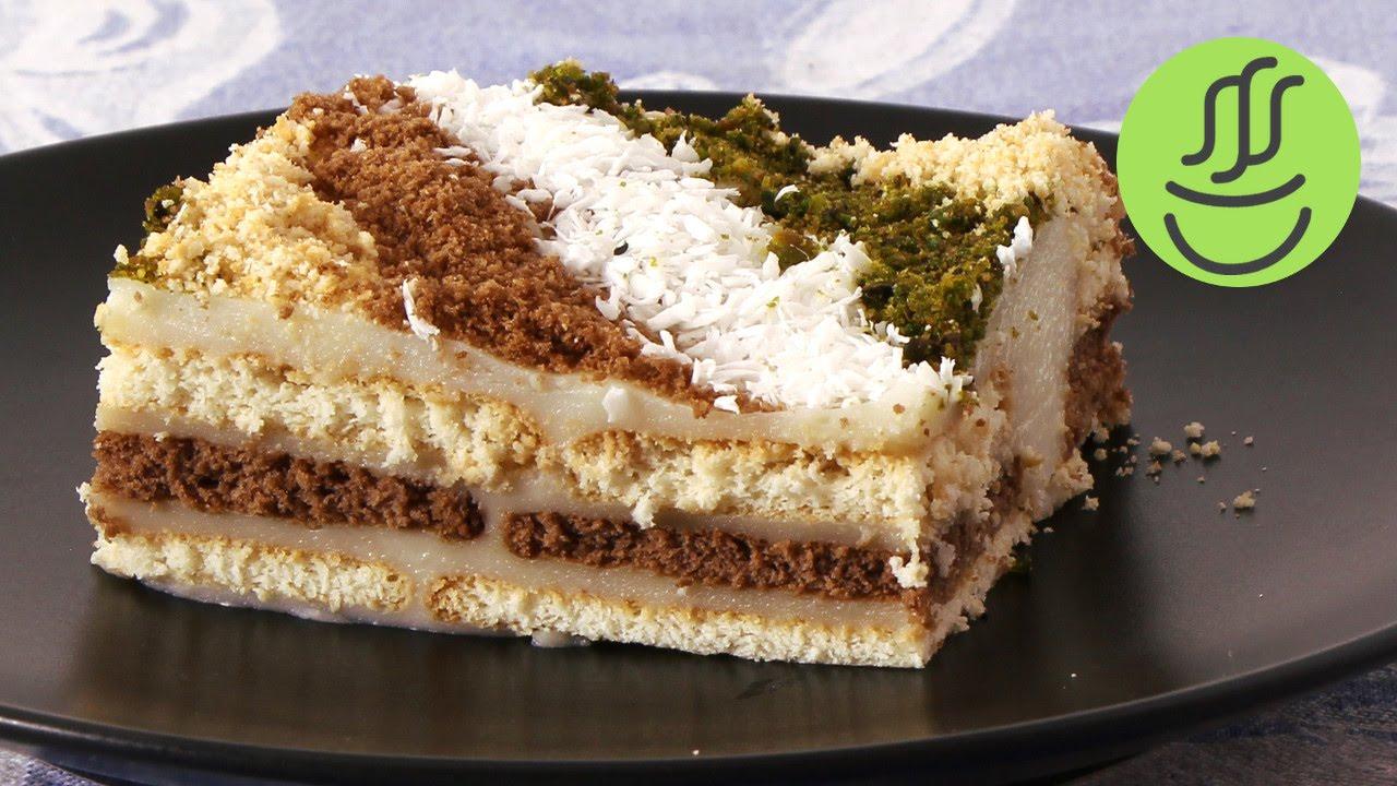 Bisküvili Etimek Pastası Tarifi Videosu