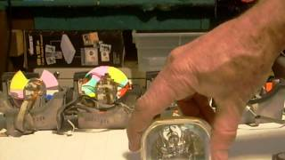 DLP Color Wheel Bad Bearing Symptoms and general service tips.