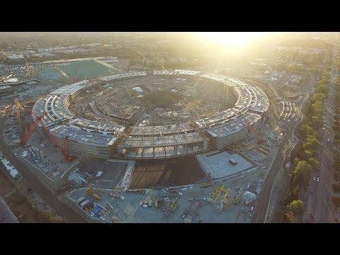 Steve Jobs'ın temelini attığı yeni Apple kampüsünün inşaatı son aşamada [Video]  - Webrazzi