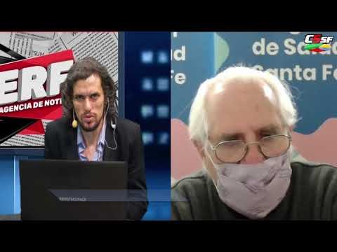 Rodolfo Rosselli, del Ministerio de Salud