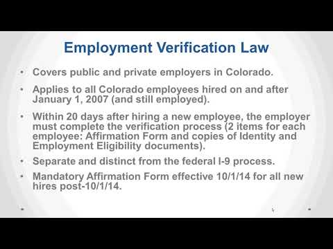 Do's and Don'ts: Inside the Colorado Division of Labor