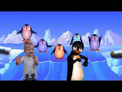 Penguin Song  The Penguin Dance   Animal Songs   Songs for Children   Nursery Rhymes Songs