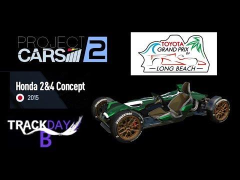 Project Cars 2 VR - Honda 2&4 (TKDB) - Long Beach Grand Prix 24 Laps