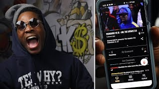 JC Air The BANDO The F@$% OUT!!! vs FRANCHISE!! SMACK/URLTV THE UPDATE 2.0 RAP BATTLE! REACTIONS