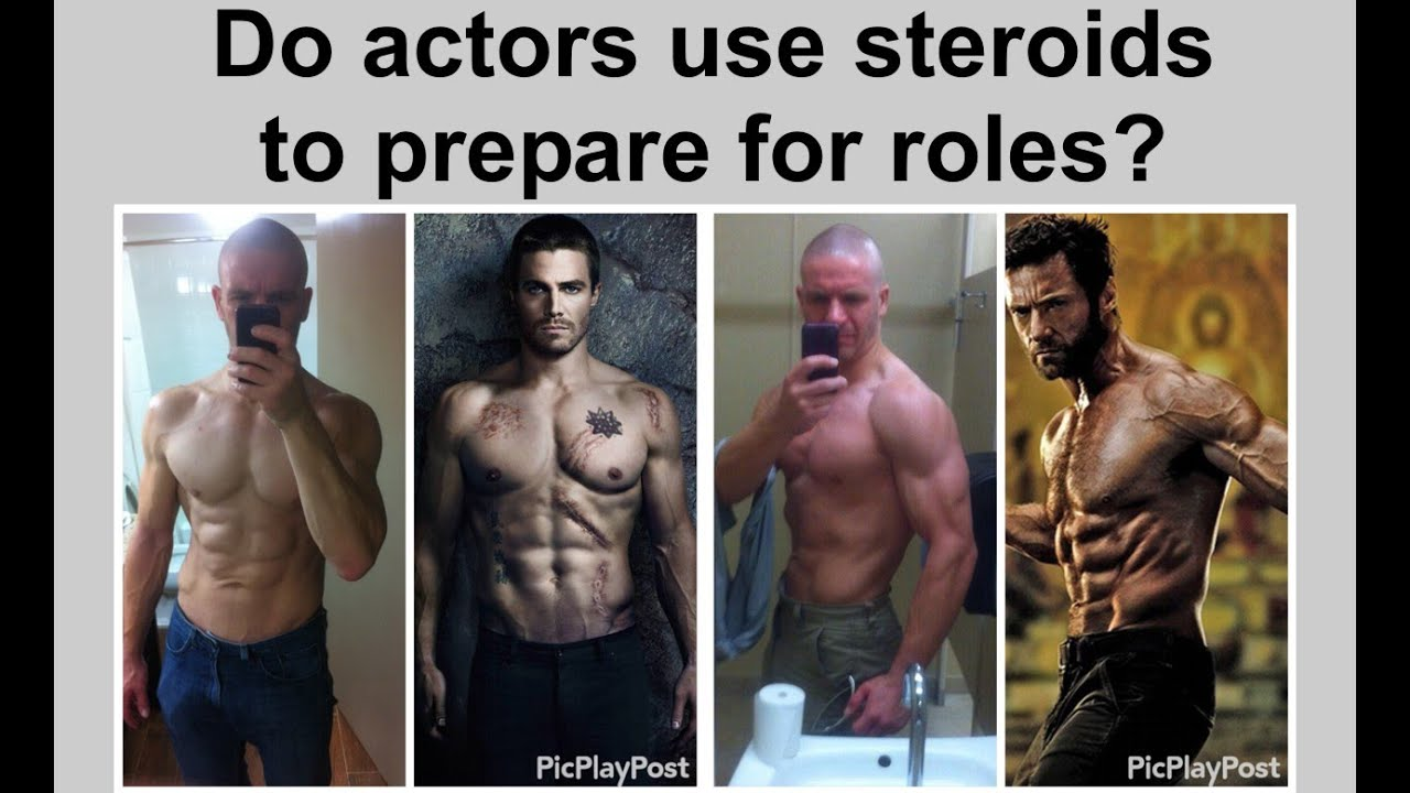 Do actors use steroids to prepare for roles? - YouTube