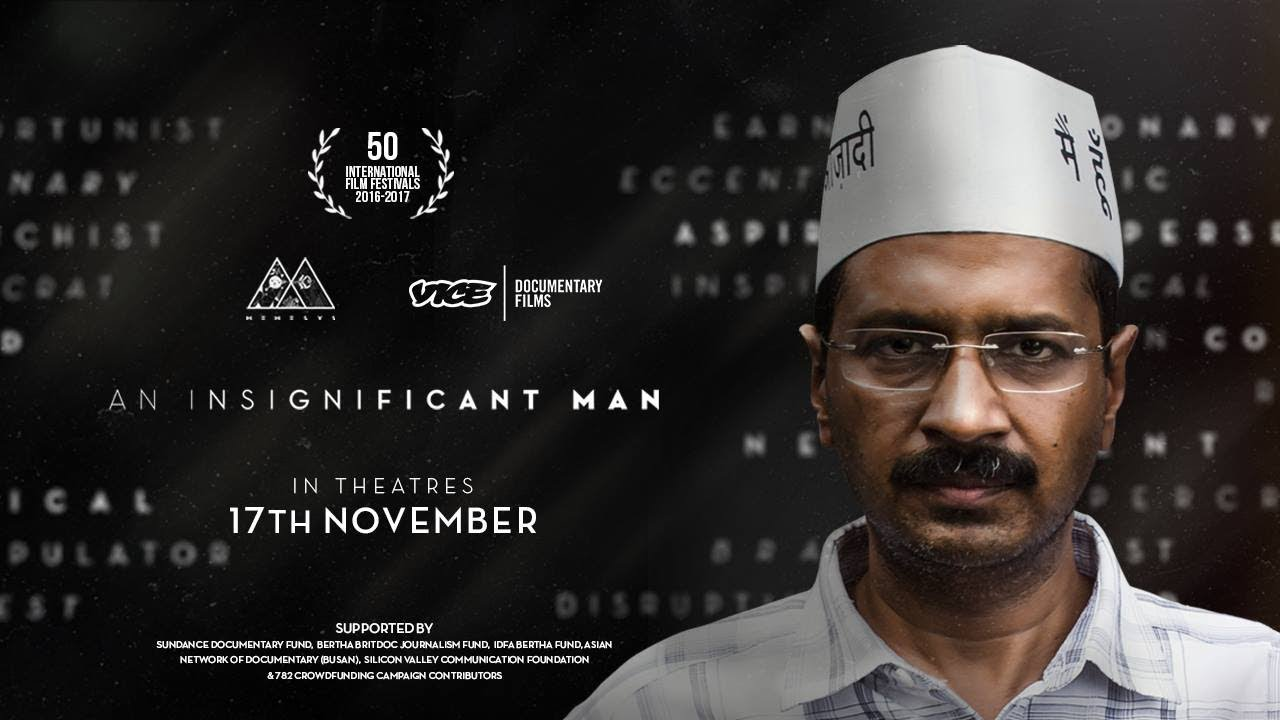 Image result for An Insignificant Man official trailer images