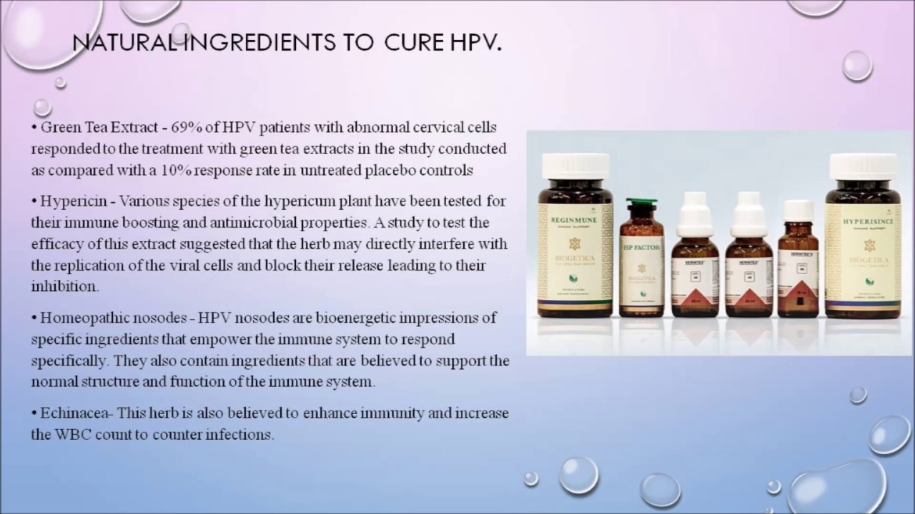 HPV Cure, HPV Treatment, How to get rid of HPV 2017