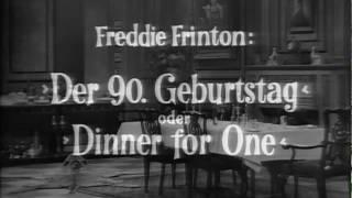 Dinner for One - Original [HD]