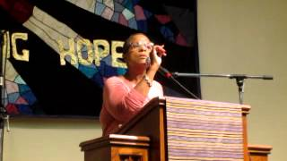 Yvette Flunder sings But for your Grace  and encourage to reflect