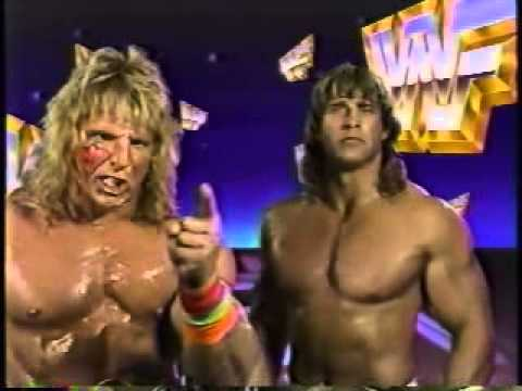 Ultimate Warrior and Texas Tornado Promo on Rude/Perfect (08-18-1990)