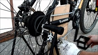 РЕМОНТ ВЕЛОСИПЕДА своими руками. DIY - repair of bicycle.(РЕМОНТ ВЕЛОСИПЕДА своими руками. Repair of bicycle. КАНАЛ ДЛЯ КРЕАТИВНЫХ. CHANNEL FOR CREATIVE PERSONS: ..., 2015-03-22T09:41:33.000Z)