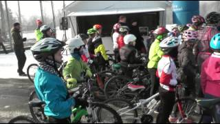 RUN AND BIKE PARC DU CHATEAU EPINAL JANVIER 2017 EN IMAGES