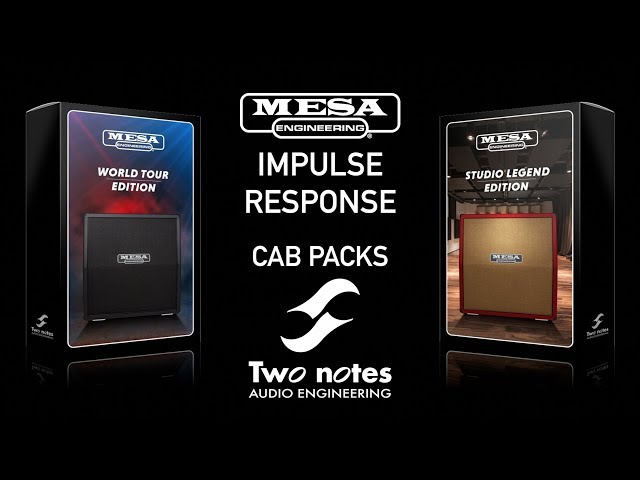 Mesa/Boogie and Two Notes team up for impulse response cab packs