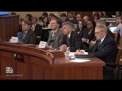 PBS NewsHour: WATCH: Denny Heck's full questioning of George Kent and Bill Taylor | Trump impeachment hearings