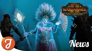 Cylostra Direfin Revealed (Who!?) | Curse of The Vampire Coast News | Total War: WARHAMMER II