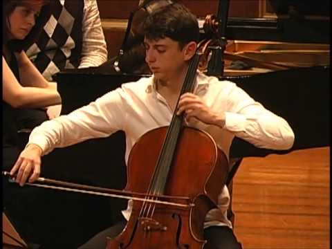 Rachmaninov Sonata for Cello and Piano III Movement, NAREK HAKHNAZARYAN