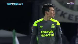 Hirving Chucky Lozano vs Feyenoord   HD 720p   KNVB Beker   31/01/18
