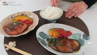 Mrs.shiraishi's  Yellowtail And Salmon Teriyaki  白石家のぶりと鮭の照り焼き