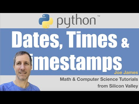 Python datetime string to timestamp