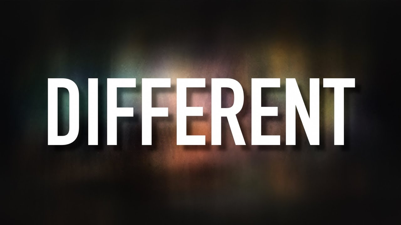 I want to be different christian song