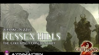 ★ Guild Wars 2 ★ - Jumping Puzzle - Kessex Hills (The Collapsed Observatory)