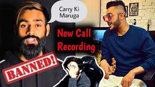 Amir Siddiqui Call Recording Against Carryminati | Khel Khattam | Roasting Guru
