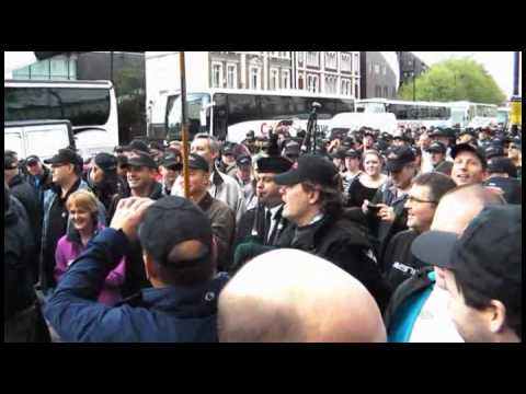 Police Federation March in London (May 10th 2012)