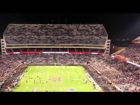 A&M-UT time lapse at Kyle Field