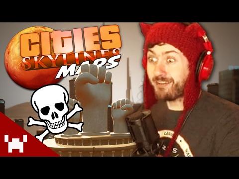 THE MASSIVE DEATHWAVE! (Cities Skylines: Mars #7)