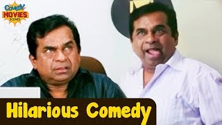 Best Hindi Comedy | Brahmanandam Comedy Scene | Hindi Comedy Videos | Main Hon Dil Wala Film
