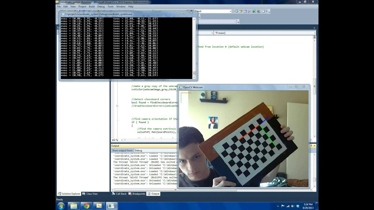 3D Pose Estimation Using OpenCV