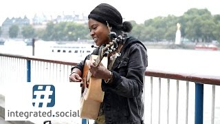 "Street performer touchses audience hearts with New Song ""Write Me a Letter"" Sherika Sherard Music"