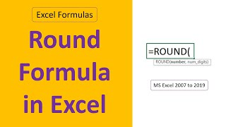 Advanced Tricks of Round Formula in Excel | Excel Formulas